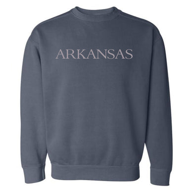 By the sea Arkansas Navy Sweatshirt