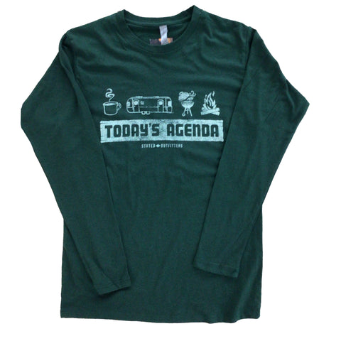 Stated Outfitters Today's Agenda LS Tee