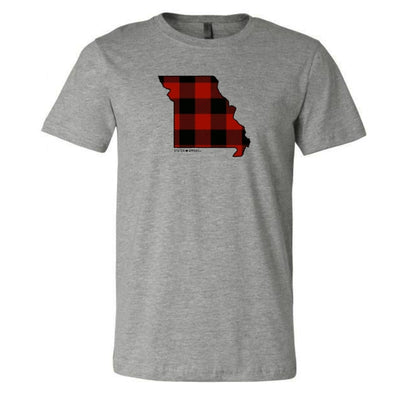 Missouri Buffalo Plaid T-Shirt