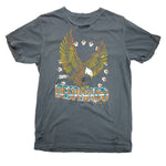 Country Deep Grey Eagle T-Shirt