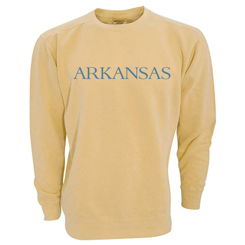 By the sea Arkansas Yellow Sweatshirt