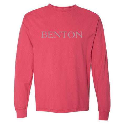 By the sea Benton Red LS T-Shirt