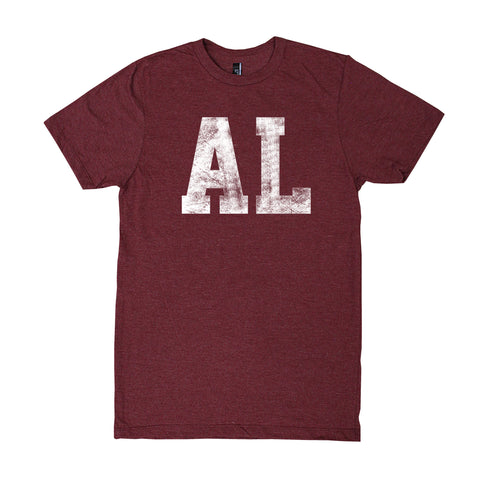 Alabama Block Distress T-Shirt
