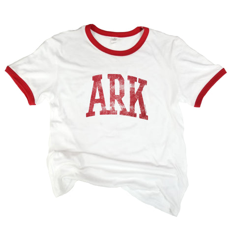 ARK Red Ringer T-Shirt