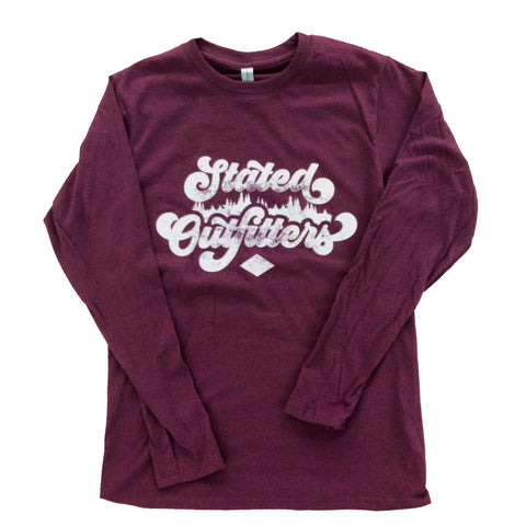 Stated Outfitters Outdoor Logo LS Tee
