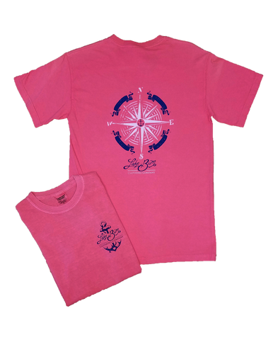 Lake Bum Compass Rose T-shirt