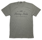 Honey Hole Grey Logo T-Shirt