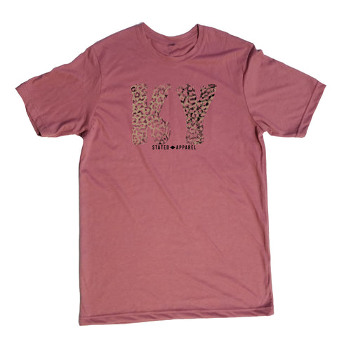 Kentucky Tattered Leopard T-Shirt