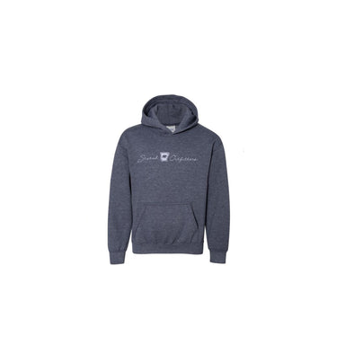 Stated Outfitters Youth Navy/ Grey Bear State Hoodie