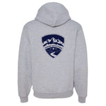Stated Outfitters Grey/Navy Shield Hoodie