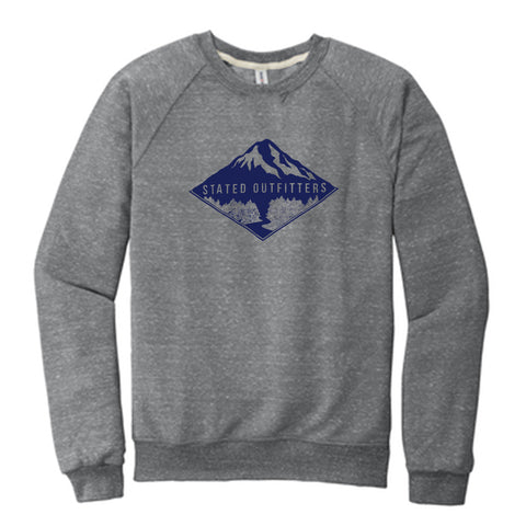 Stated Outfitters Grey/Navy Mountain Sweatshirt
