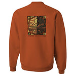 Stated Outfitters Orange Day and Night Sweatshirt