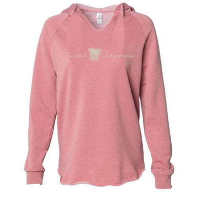 Stated Outfitters Pink V-neck Hoodie