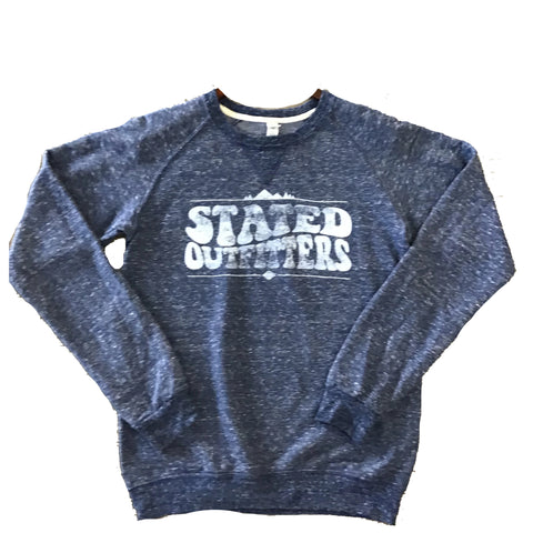 Stated Outfitters Blue Snow sweatshirt