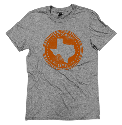 Texas Distressed Seal Tee