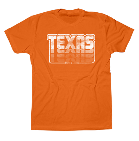 Texas Retro Stack Tee
