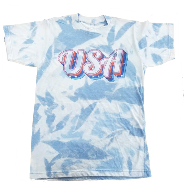 USA Dye Subbed Tie-Dyed T-Shirt