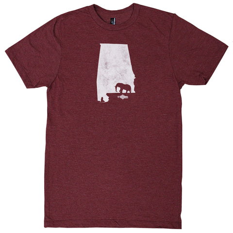 Alabama Walking Mascot T-Shirt
