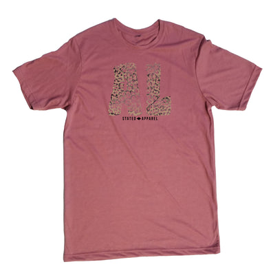 Alabama Tattered Leopard T-Shirt