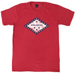 Arkansas Flag Crew T-Shirt