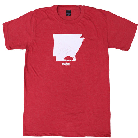 Arkansas Walking Mascot T-Shirt