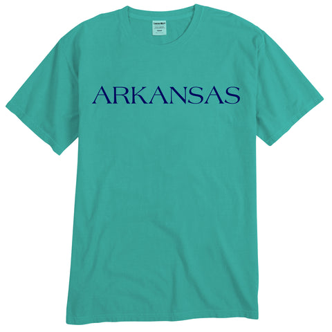 By The Sea Arkansas Moss/Navy T-Shirt
