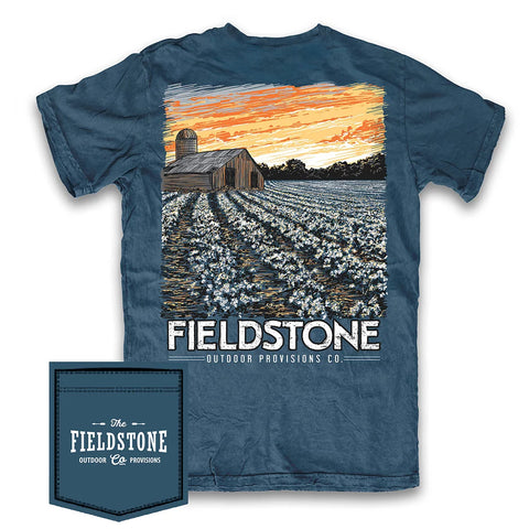 Field Stone Cotton Field T-Shirt