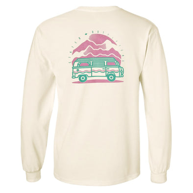 Stated Outfitters Cream Van LS T-Shirt