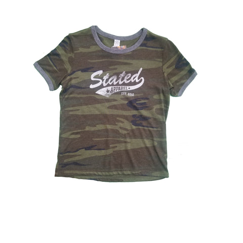 Stated Apparel Youth Alt Camo Short Sleeve T-shirt