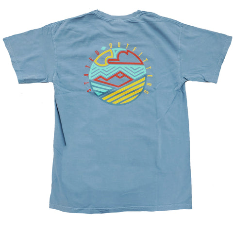 Stated Outfitters Abstract Circle Mountain CC Tee