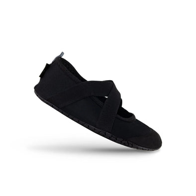 FitKicks Crossover Black Shoes