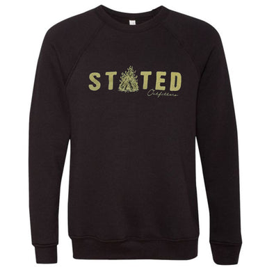 Stated Outfitters Campfire Sweatshirt Black Sweatshirt