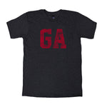 Georgia Block Distress T-Shirt