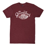 Gameday Y'all Maroon/White Script T-Shirt