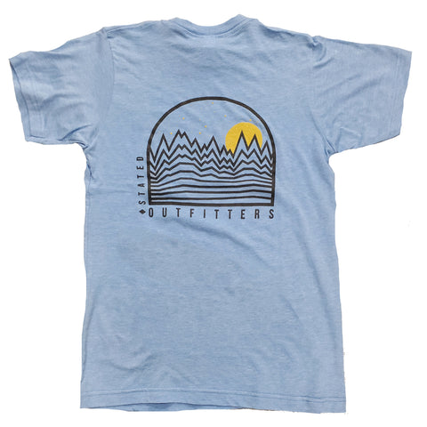 Stated Outfitters Horizons Blue Tee