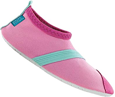 Fitkicks Fit Kids Pink and Teal Shoes