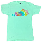 Kentucky State Tie-Dye Shirt