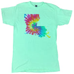 Louisiana State Tie-Dye Shirt