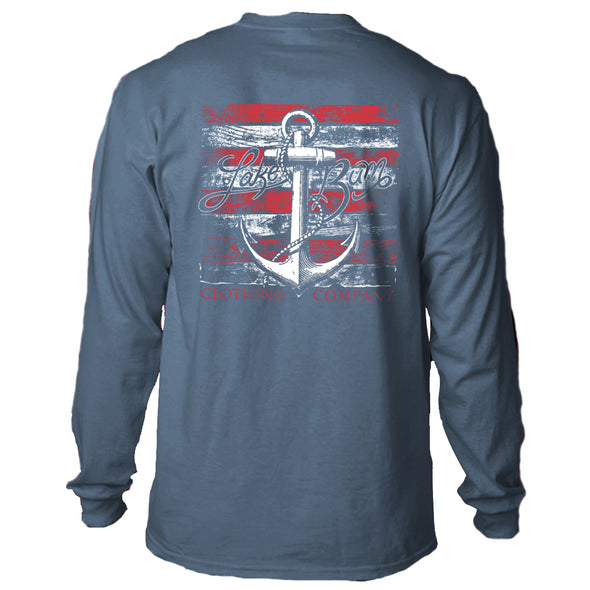 Lake Bum Anchored LS T-Shirt