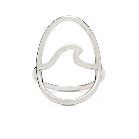 Pura Vida Statement Wave Ring