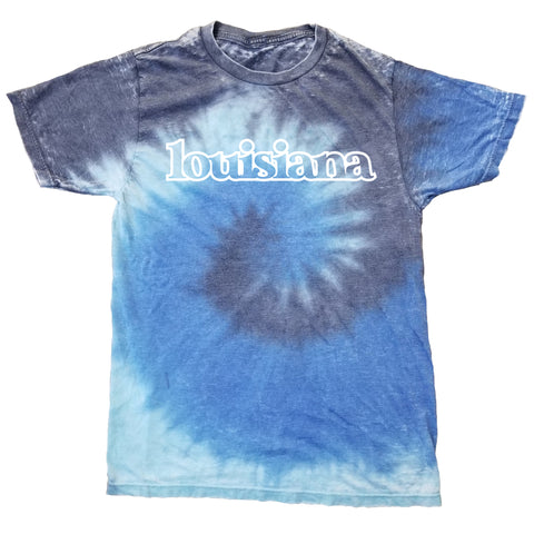 Louisiana Sea Tie-Dye T-Shirt
