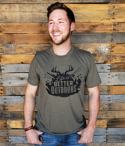 Life is better outdoors Tee