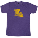 Louisiana Walking Mascot T-Shirt