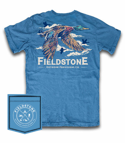 Fieldstone Migration CC Blue Tee