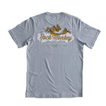 Rock Monkey Mountain Grey/Blue T-Shirt