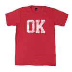 Oklahoma Block Distress T-Shirt