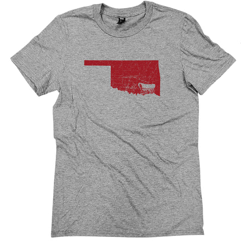 Oklahoma Walking Mascot T-Shirt