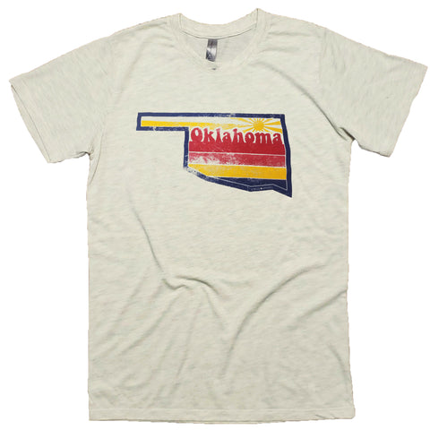 Oklahoma retro sunset T-Shirt