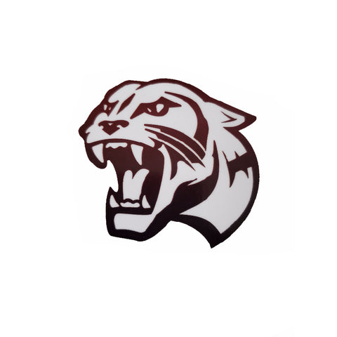 Panther Head Sticker