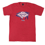 Arkansas Pig Flag T-shirt